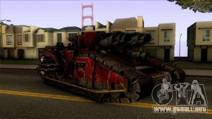 Warhammer 40k - Chaos Fellblade 1.0 para GTA San Andreas