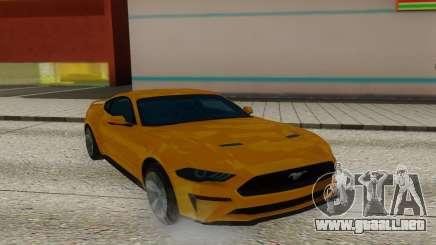 Ford Mustang GT Leaked para GTA San Andreas