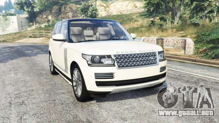 Land Rover Range Rover Vogue 2013 v1.3 [replace] para GTA 5