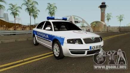 Skoda SuperB Policija Republike Srpske para GTA San Andreas