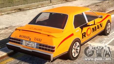 Rom Taxi para GTA 4