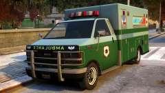 Ambulance Modification para GTA 4