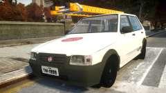 Fiat Uno Mille De Firma para GTA 4