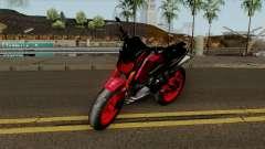 Honda MSX Modified red para GTA San Andreas