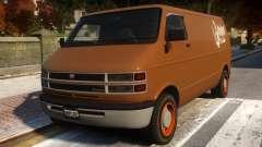 Bravado Youga Commercial Van para GTA 4