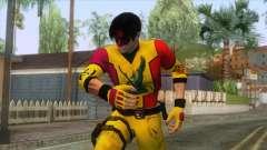 Masked Leon Skin v2 para GTA San Andreas