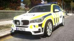 BMW X5 Norwegian Police para GTA 4