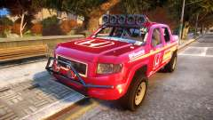 Baja 1000 Honda Ridgeline para GTA 4