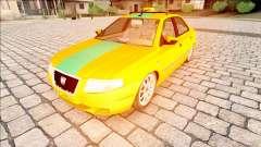 IKCO Samand Taxi para GTA San Andreas