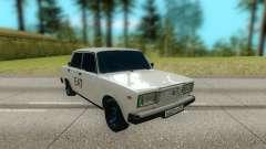 VAZ 2107 blanco para GTA San Andreas