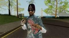 New gangster Ballas3 para GTA San Andreas