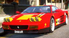 Ferrari 512 TR Evo Testarossa Rel para GTA 4