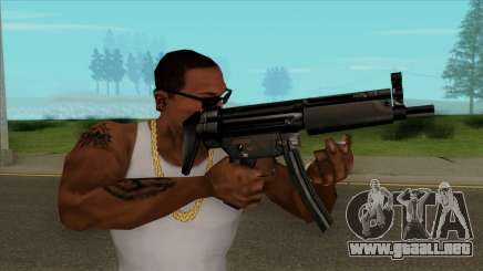 MP5 Default HQ para GTA San Andreas