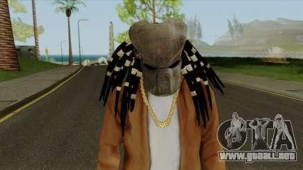 Predator Mask From Mortal Kombat X para GTA San Andreas