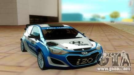 Hyundai i20 para GTA San Andreas