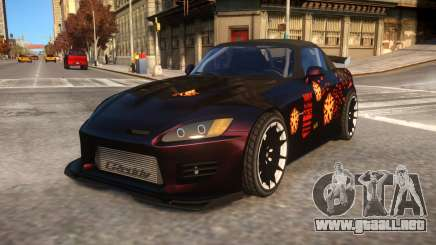 Fast And Furious 1 Honda S2000 Movie Car para GTA 4