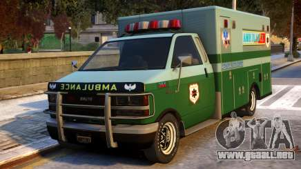 Ambulance Modification para GTA 4