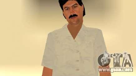 Pablo Emilio Escobar by MFR para GTA San Andreas