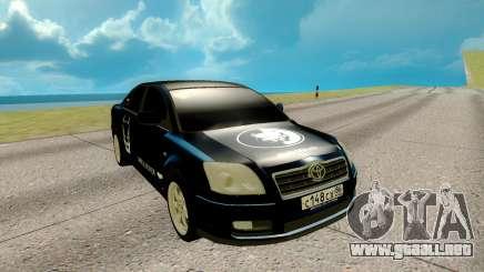 Toyota Avensis para GTA San Andreas