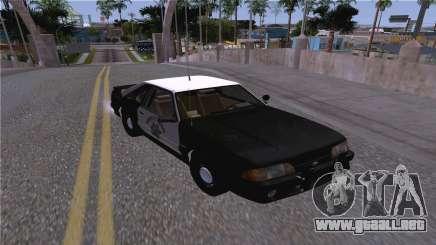 Ford Mustang SSP 1993 para GTA San Andreas