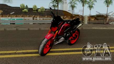 Honda MSX Modified red para GTA San Andreas