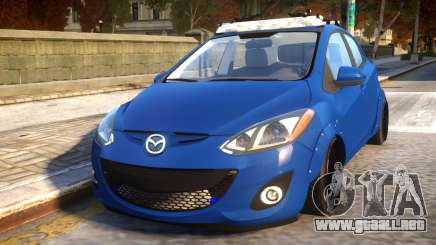 Mazda 2 DRIFT Car para GTA 4