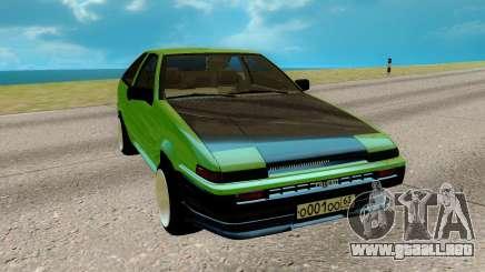 Toyota Sprinter Trueno АЕ85 para GTA San Andreas