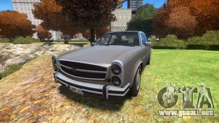 Benefactor Glendale v1.1 para GTA 4