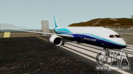 Boeing 787-8 Boeing House Colors para GTA San Andreas