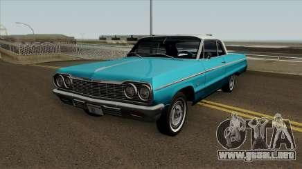 Chevrolet Impala SS v2.1 1964 para GTA San Andreas