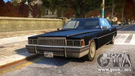 Emperor Coupe para GTA 4