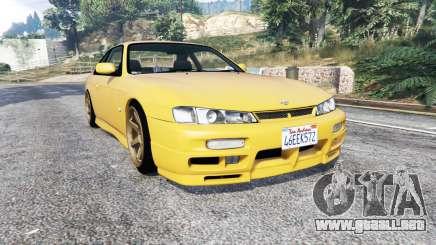 Nissan 200SX (S14a) 1996 v1.1 [replace] para GTA 5
