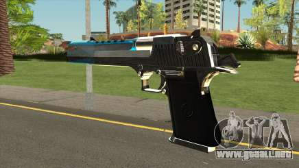 Chrome Eagle Blue para GTA San Andreas