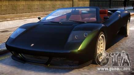 GTA V Infernus Cabrio para GTA 4