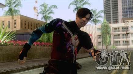 Masked Leon Skin v3 para GTA San Andreas