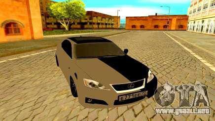 Lexus IS F para GTA San Andreas