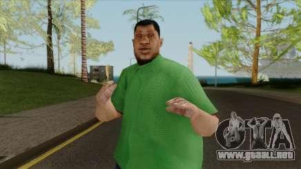 La grasa nueva fam1 para GTA San Andreas