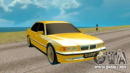 BMW E38 750iL 7 Series para GTA San Andreas