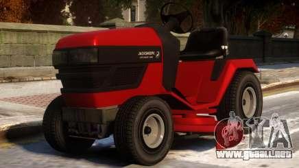 Jacksheepe Lawn Mower para GTA 4