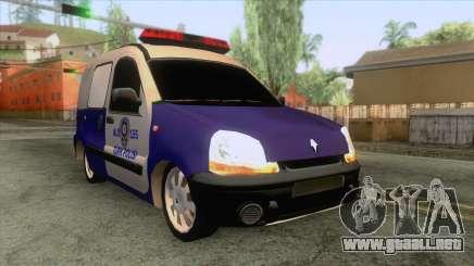 El Coche De La Policía Renault Clio para GTA San Andreas