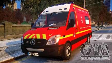 Mercedes Sprinter VSAV para GTA 4