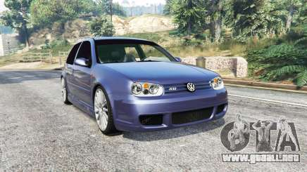 Volkswagen Golf R32 (Typ 1J) v1.1 [replace] para GTA 5