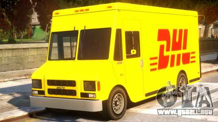 DHL TNT Skins for Boxville para GTA 4