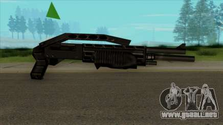 SPAS Default HQ para GTA San Andreas