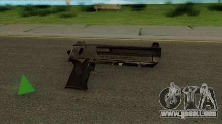 Deagle Default HQ para GTA San Andreas