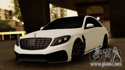 Mercedes-Benz S63 WALD Black Bison para GTA San Andreas