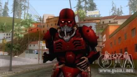 Kerberos Panzer Cop Red Skin para GTA San Andreas