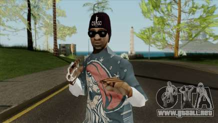 New gangster Ballas3 para GTA San Andreas