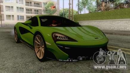 McLaren 570S para GTA San Andreas