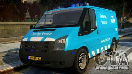 Ford Transit Catering Service KLM para GTA 4